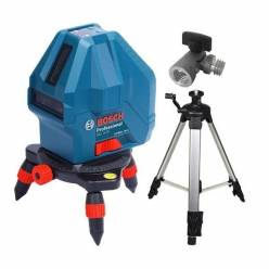 Линейный лазерный нивелир Bosch Professional GLL 3-15 + мини штатив